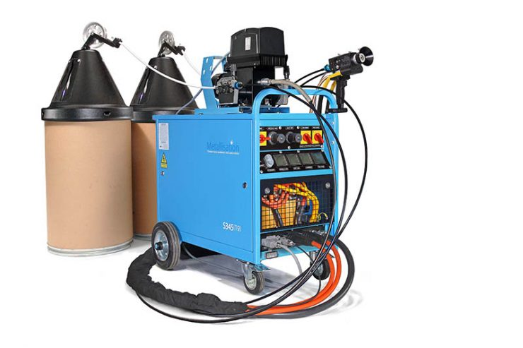 impianto metallizzazione ARC145p
