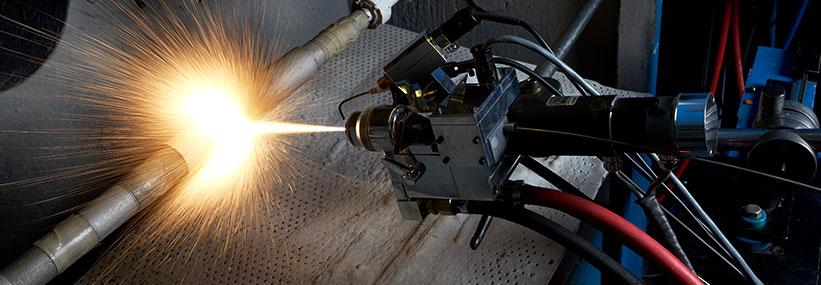 metallizzazione fiamma