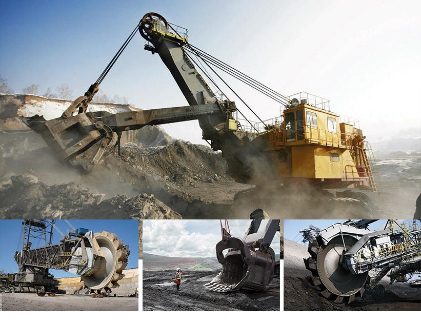 riporti di saldatura industria mineraria
